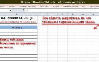 Как сделать протяжку в Excel?