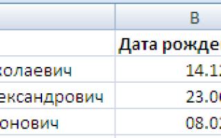 Как сделать разницу дат в Excel?