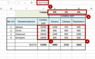 Как сделать постоянную строку в Excel?