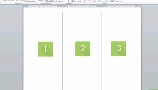 Как сделать буклет в word 2013?