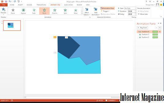 Как сделать чтобы анимация повторялась в powerpoint?