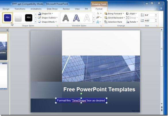 Как сделать таймер в презентации powerpoint?