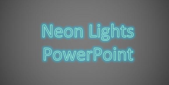 Как сделать свечение в powerpoint?