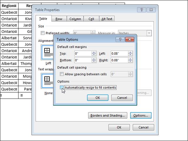 Как сделать фиксированную таблицу в word?