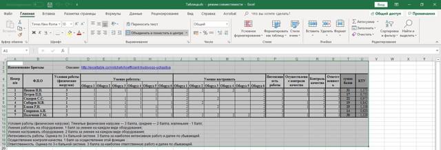 Как сделать таблицу в excel распечатать таблицу?