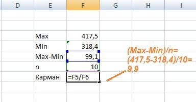 Как сделать частотный анализ в excel?