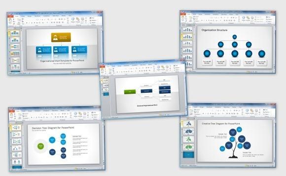 Как сделать структуру организации в powerpoint?