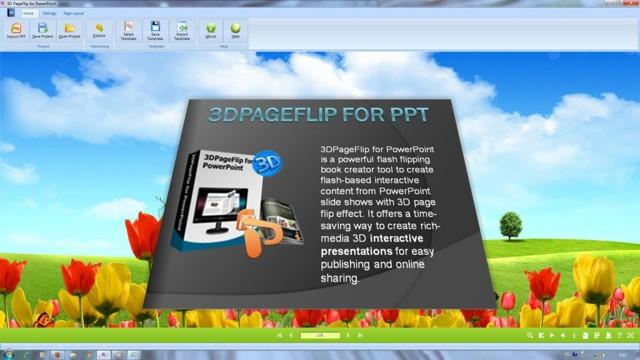Как в powerpoint один слайд сделать книжным?