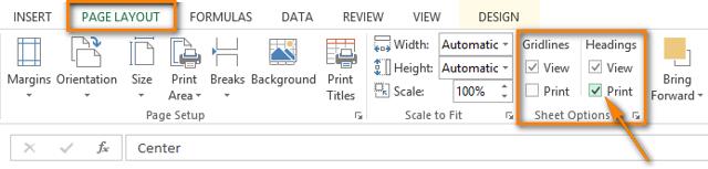 Как сделать чтобы в excel печаталась строка на каждой странице?