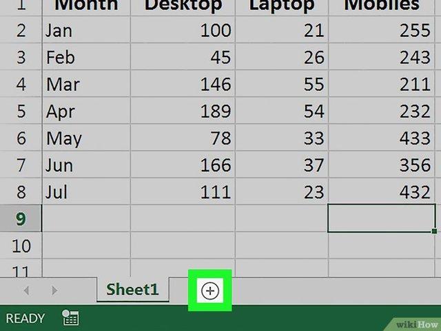 Как в excel сделать листы в 2 ряда?