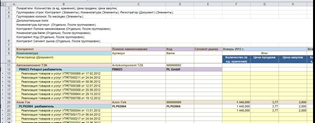 Как сделать многоуровневую таблицу в excel?