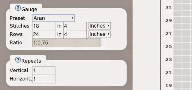 Как сделать схему для вязания в excel?
