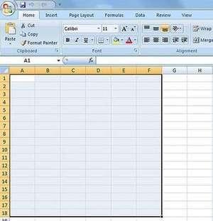 Программа excel как сделать таблицу