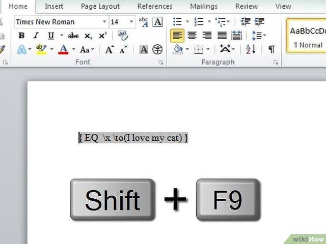 Как сделать черту над буквой в excel?