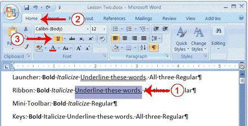 Как сделать черту над буквой в word?