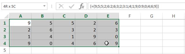 Как сделать выборку в excel с помощью формул массива?