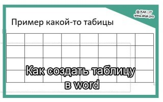 Как сделать таблицу для оценок в word?