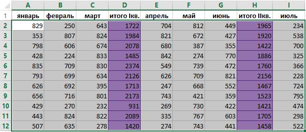 Как сделать чередующиеся цвета строк в excel?