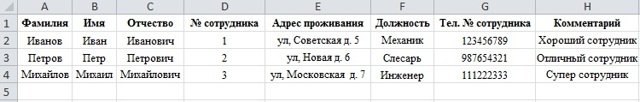 Как сделать шаблон документа в excel?