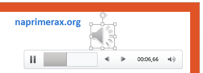 Как сделать звук на несколько слайдов powerpoint 2007?