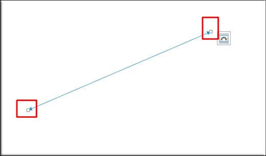 Как сделать надпись над стрелкой в word?