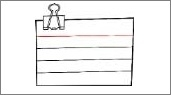Как сделать блокнот в word?