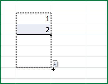 Как сделать автозаполнение формул в excel?