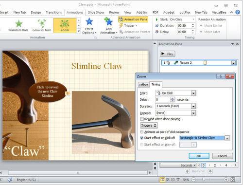 Как сделать динамическую презентацию в powerpoint?