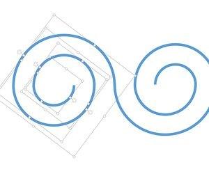 Как сделать спираль в word?