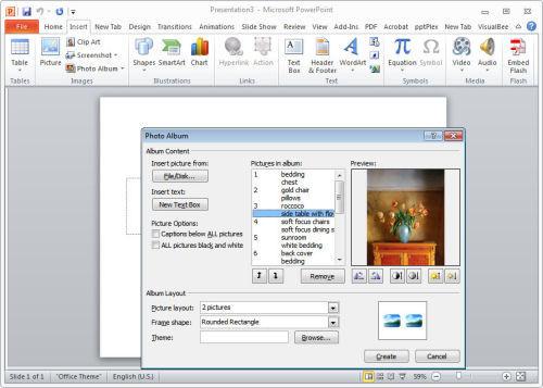 Как сделать так чтобы в powerpoint картинка выходила по щелчку?