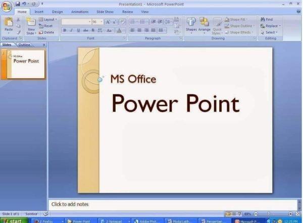 Как сделать фильм в программе powerpoint?