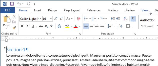 Как сделать страницу на весь экран в word?