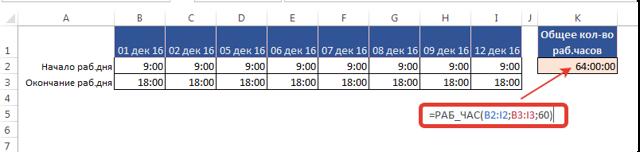 Как сделать счетчик дней в excel?