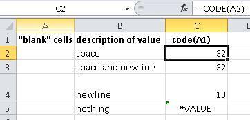 Как в excel сделать пустые ячейки а не 0?