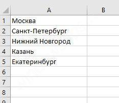 Как сделать цветным выпадающий список в excel?