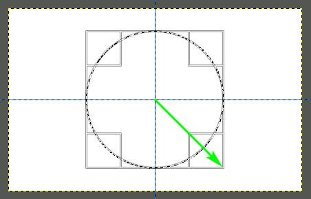 Как сделать надпись по кругу в excel?