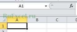 Как сделать чтоб в excel вместо rc были буквы?