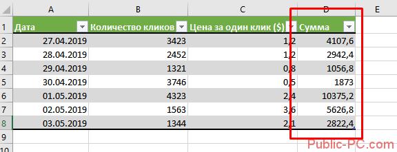 Таблица в excel 2010 как сделать
