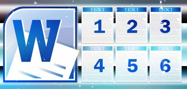 Как сделать разные номера страниц в word?