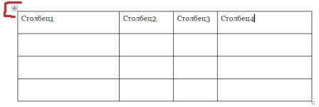 Как сделать таблицу в word по центру?
