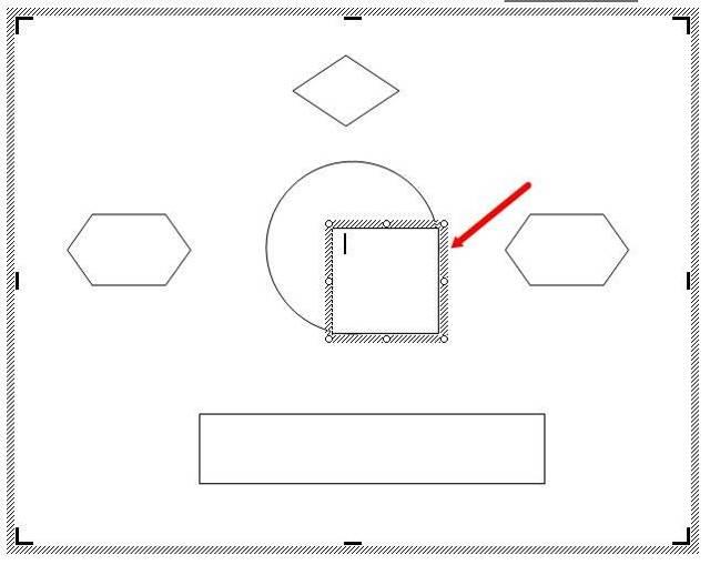 Как сделать таблицу со стрелками в word?