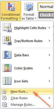 Как сделать чтобы ячейки в excel меняли цвет?