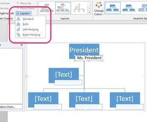 Организационная диаграмма в word как сделать