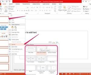 Как сделать заголовок слайда в powerpoint?