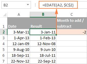 Как сделать сравнение дат в excel?
