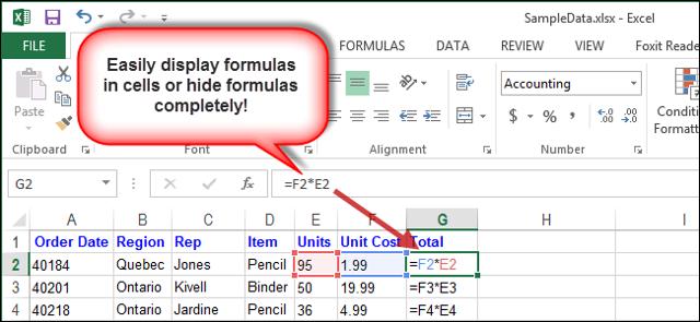 Как формулу в excel сделать невидимой?