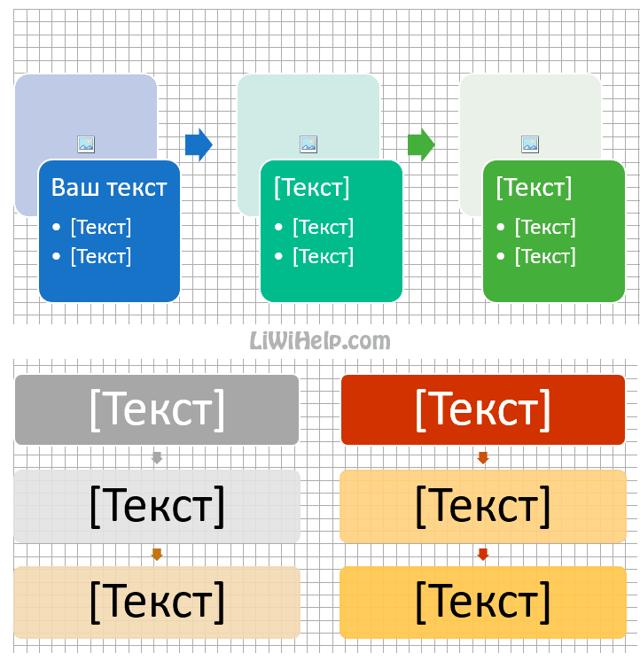 Как сделать блок схему в excel?