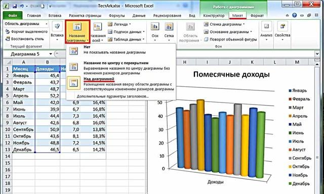 Как сделать проценты на диаграмме в excel?