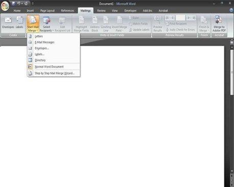 Как сделать слияние документов в excel?